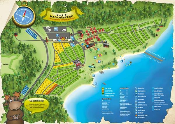 Haganäsets områdeskarta